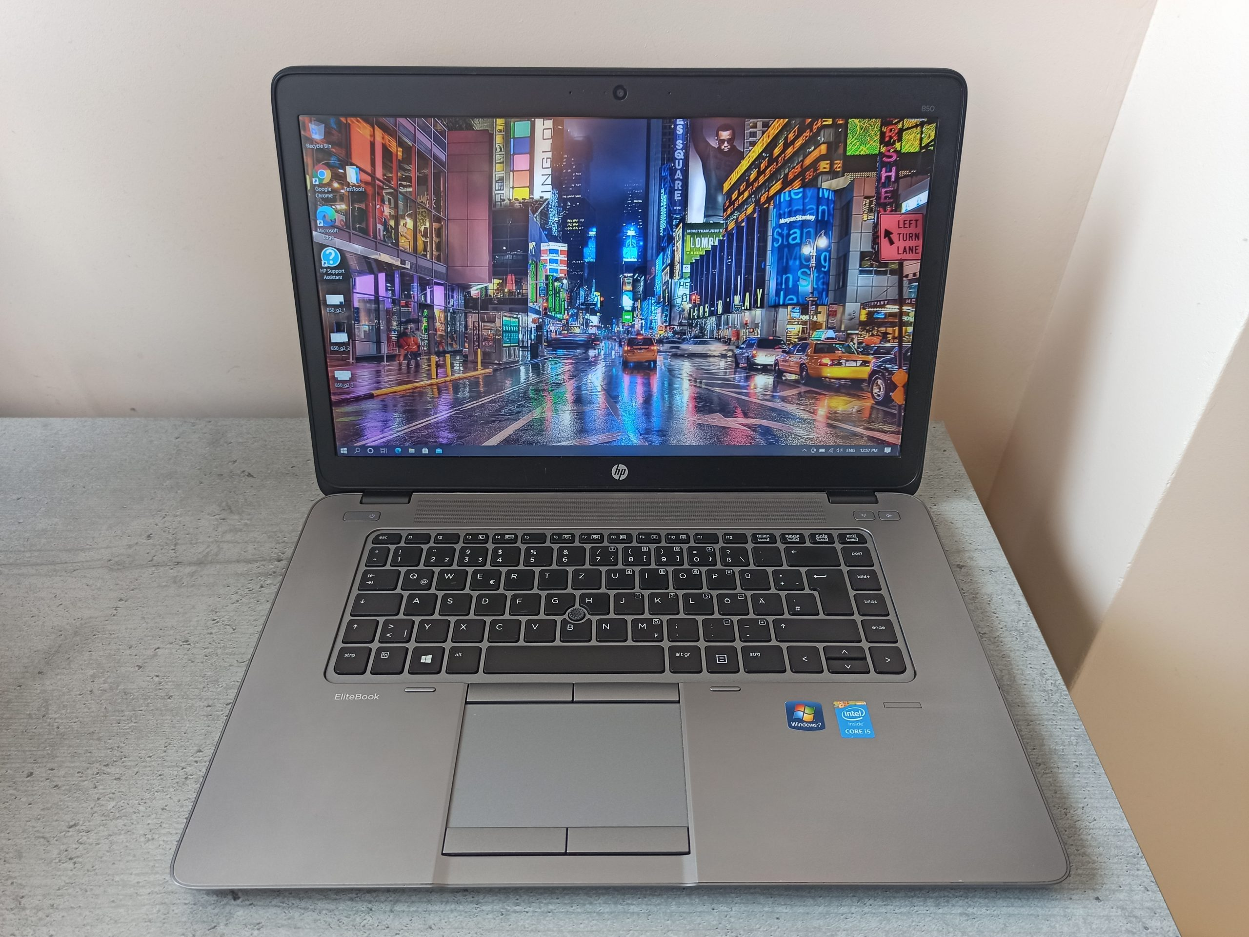 HP Elitebook 850 G2 FHD i5-5200U/128GB/8GB