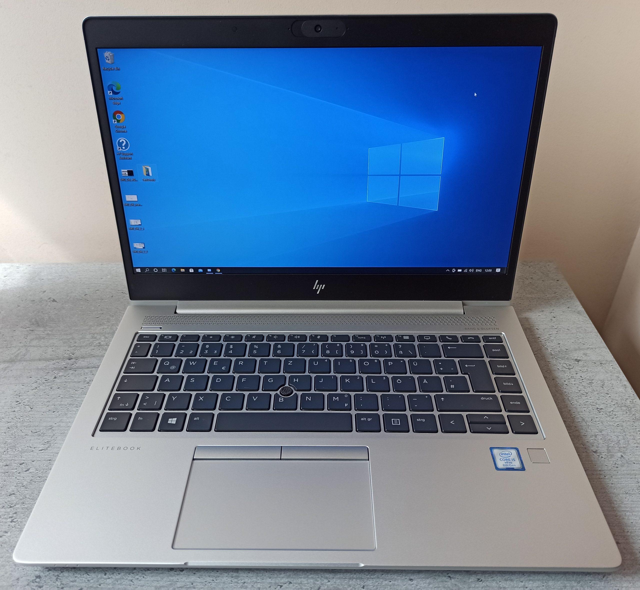 HP Elitebook 840 G6 FHD IPS/I5-8365U/256GB/8GB/4G/Гаранция 05.2024г.
