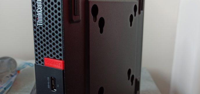 ThinkCentre M910q Tiny Desktop i7-7700T/PCIe 256GB/16GB/Гаранция до 13.05.2021г.