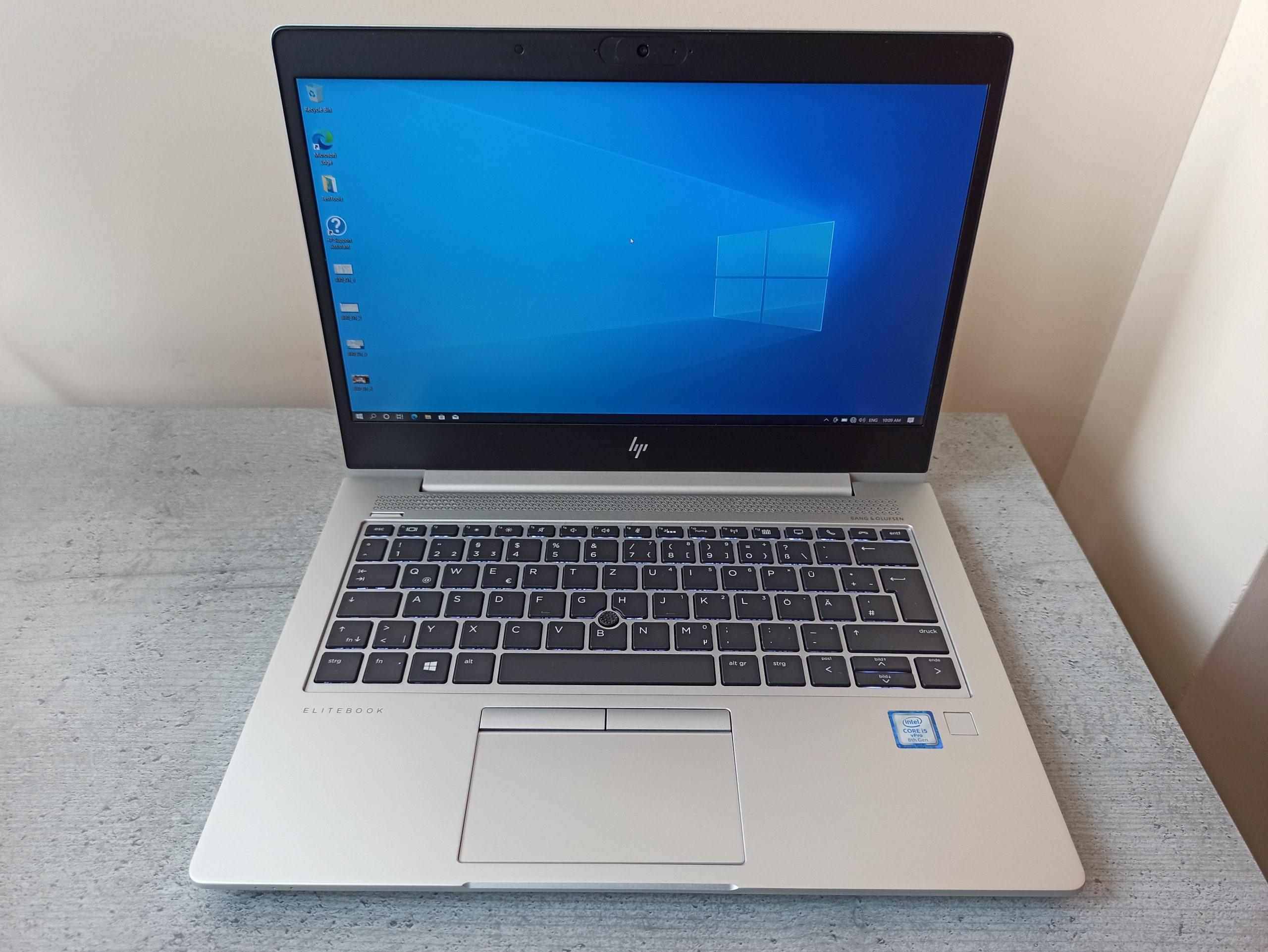 HP Elitebook 830 G5 FHD IPS i5-8350U/256GB/8GB/4G модем - Гаранция 16.05.2022г.