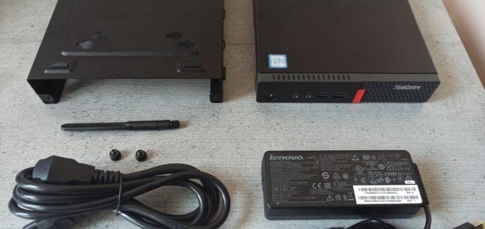 Lenovo ThinkCentre M910q Tiny Desktop i7-7700T/PCIe 256GB/16GB/Гаранция до 02.12.2022г.