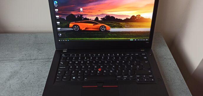 Lenovo Thinkpad T480 FHD IPS i5-8250U/NVMe 256GB/8GB Гаранция до 13.06.2022г.